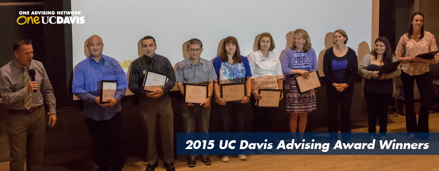 2015 Fall Welcome Award recipients.