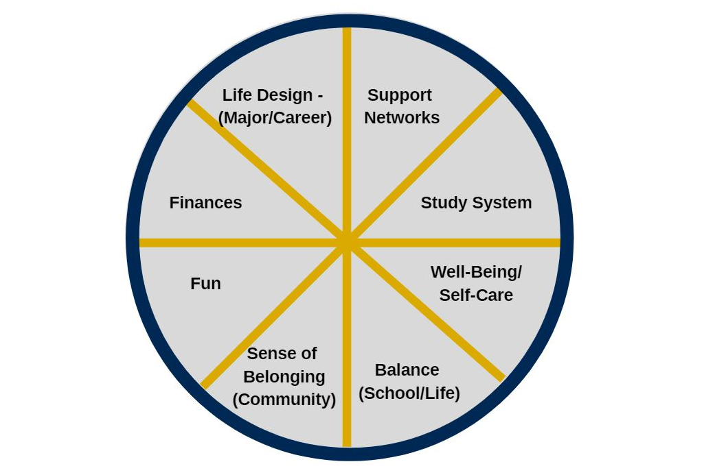 Wheel of Life graphic.