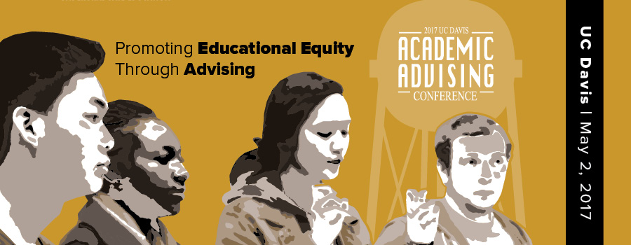 "Conference graphic, ""Promoting Educational Equity through Advising."""