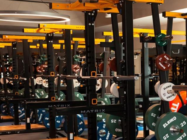 ARC weight room.